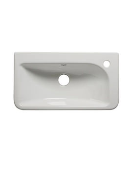 Q60 540mm Slim Depth Semi Countertop Basin