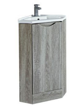 Naples 410mm Avola Corner Unit With Basin