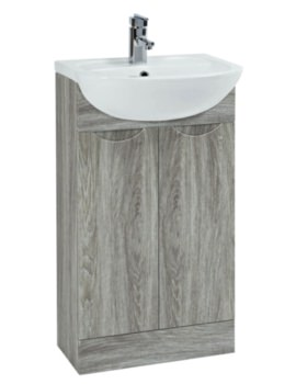 Trend 500mm Avola Vanity Unit With Basin