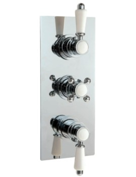 Traditional Concealed Thermostatic Valve With 3 Water Flow Outlet