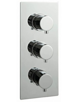 RO Series Concealed Thermostatic Valve With 3 Water Flow Outlet