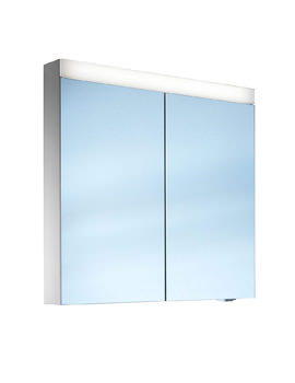Pataline 2 Door LED Mirror Cabinet 600mm