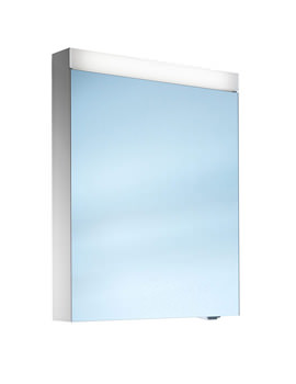 Pataline 1 Door LED Mirror Cabinet 500mm