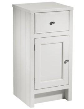 Hampton 400mm Storage Unit Chalk White