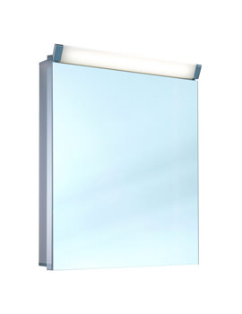 Paliline 1 Door 500mm Mirror Cabinet With LED Light