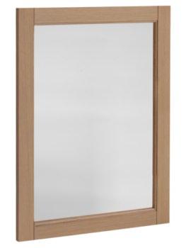 Hampton 570mm Mirror Natural Oak