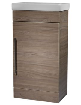 Esta 460mm Dark Elm Freestanding Unit With Basin