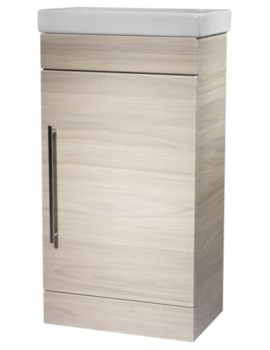 Esta 460mm Light Elm Freestanding Unit With Basin