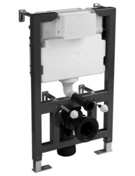 820mm Wall Hung Dual Flush WC Frame