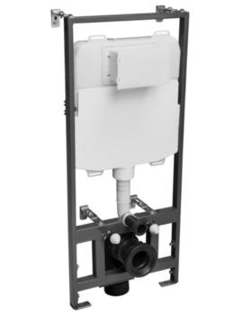 1170mm Wall Hung Dual Flush WC Frame