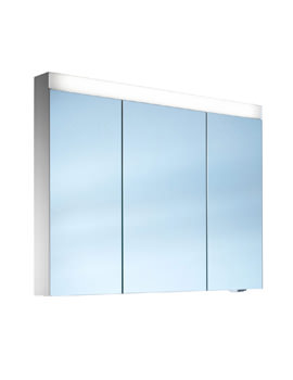 Pataline 3 Door LED Mirror Cabinet - More Sizes Available
