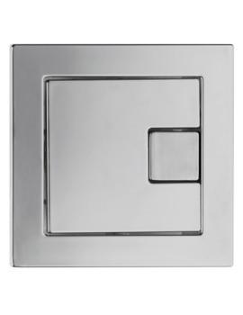 Square Dual Flush Plate