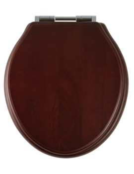 Greenwich Mahogany Solid Wood Toilet Seat