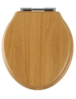 Greenwich Natural Oak Solid Wood Toilet Seat - 8099NOSC
