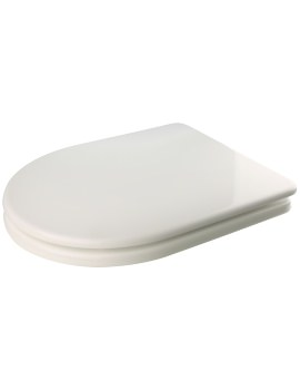 Croydex Haven Compact D-Shaped Sit-Tight Toilet Seat