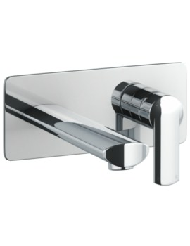 Abode Vedo Wall Mounted Basin Mixer Tap