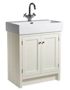Hampton 700mm Vanilla Vanity Unit With Basin