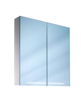 Graceline 2 Door Illuminated Mirror Cabinet