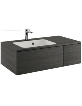 Pier 800mm Steel Single Drawer Console Unit And Basin