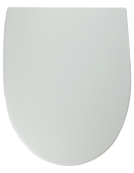 Refresh Standard Toilet Seat And Cover With Plastic Hinges