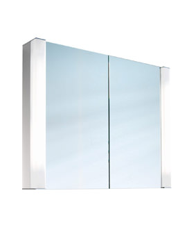 Pepline 2 Door Mirror Cabinet - More Sizes Available