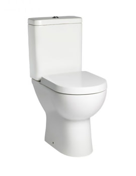 Tavistock Ion Comfort Height Pan With Cistern And Soft Close Seat