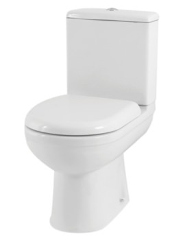 Emma WC With Cistern And Soft Close Seat 615mm