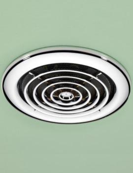 Turbo Bathroom Inline Chrome Extractor Fan