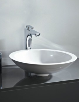 Round 500mm Counter Top Mineral Cast Basin