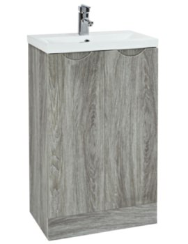 Amari 510mm Vanity Unit With Basin Avola