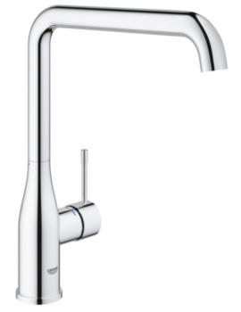 Essence Plus Single Lever L-Spout Sink Mixer Tap Chrome