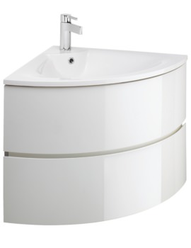 Corner Vanity Units For Bathrooms Cloakrooms Qs Supplies Uk