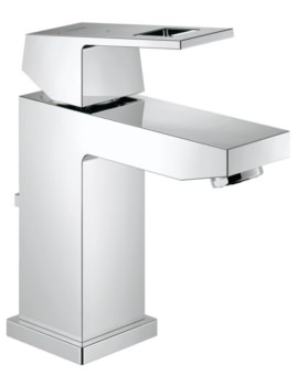 Eurocube S-Size Half Inch Basin Mixer Tap With Pop Up Waste