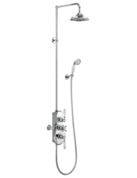 Spey 2 Outlet Exposed Thermostatic Shower Set
