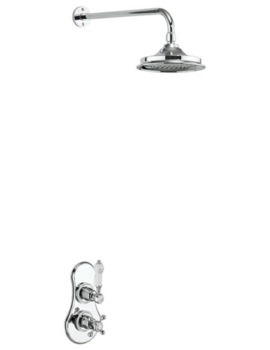 Severn Concealed Thermostatic Valve With Shower Head And Arm