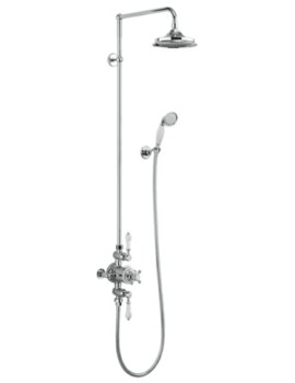 Avon 2 Outlet Exposed Thermostatic Shower Set