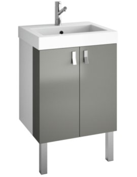 Croydex Danby Grey Basin Vanity Unit