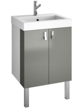 Croydex Danby Grey Basin Vanity Unit
