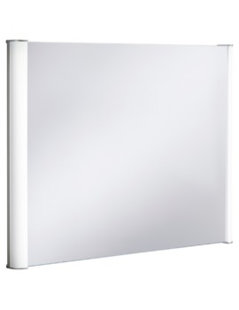 Serene 800 x 600mm Illuminated Bathroom Mirror