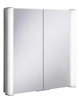 Bauhaus Duo 800 Illuminated Mirrored Cabinet