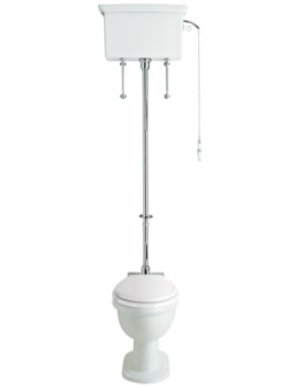 Victoria High Level WC And Cistern With Flush Pack