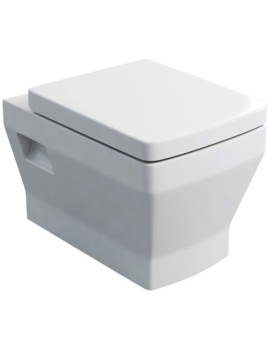 Cube S20 Wall Hung WC And Carbamide Soft Close Seat