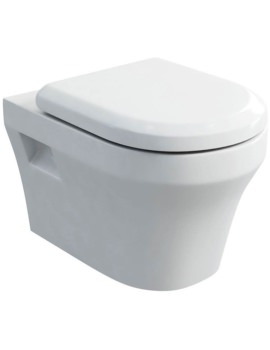Fine S40 Wall Hung WC With Carbamide Soft Close Seat