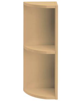 Caversham Traditional Oak 265mm Curved End Open Unit