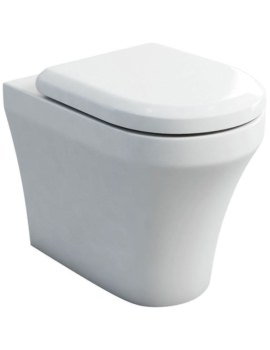 Britton Fine S40 Back To Wall WC With Carbamide Soft Close Seat