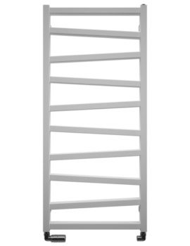 Bauhaus Gallery Wedge 500 x 1096mm White Matte Towel Warmer