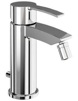 Sapphire Chrome Bidet Mixer Tap With Pop Up Waste - CTA13