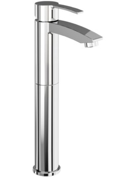 Sapphire Tall Basin Mixer Tap Without Pop Up Waste - CTA12