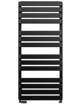 Gallery Celeste 500 x 1100mm Black Matte Towel Warmer