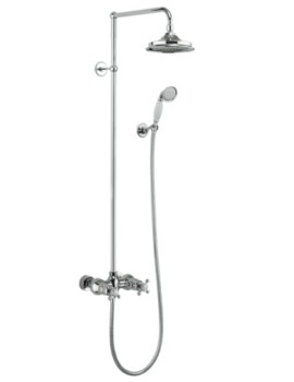 Eden 2 Outlet Exposed Thermostatic Shower Set